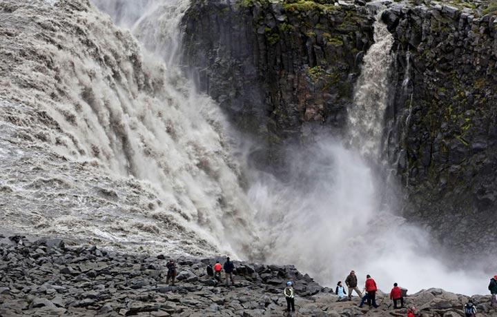 Detifoss Cascada Islandia
