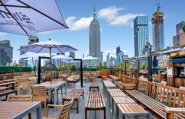 Las Mejores Terrazas De Nueva York Guía Rooftop Band Of