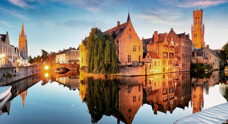 Viajar a Bruselas, Brujas y Gante