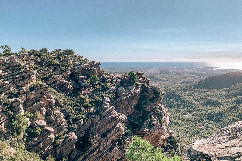 Ruta al Mirador del Garbí, en el Parque Natural de la Sierra Calderona